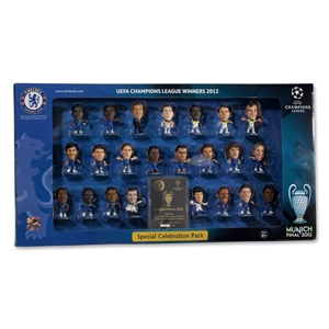 Chelsea 2012 UCL Winners Starz Toy Figurine Set