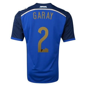 Argentina 2014 GARAY Away Soccer Jersey