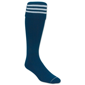 3 Stripe Padded Socks (Navy/White)