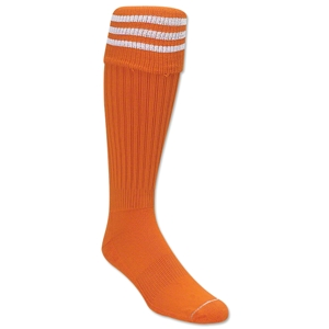 3 Stripe Padded Socks (Orange/White)