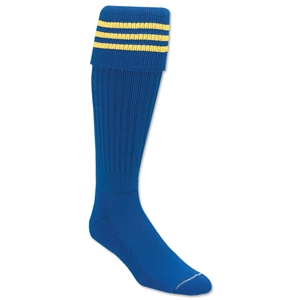 Classic Padded Triple Stripe Socks (Roy/Yel)