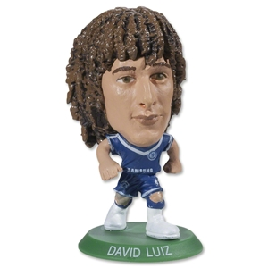 Chelsea David Luiz Home Mini Figurine