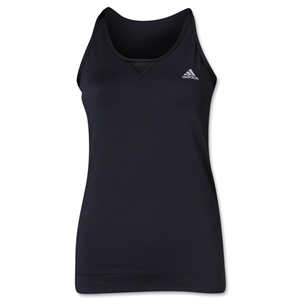 adidas Women's TechFit Strappy Tank (Black)