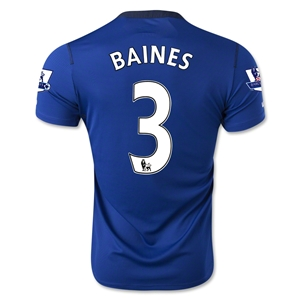Everton 14/15 BAINES Home Soccer Jersey