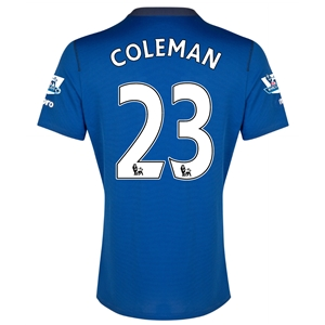 Everton 14/15 COLEMAN Home Soccer Jersey