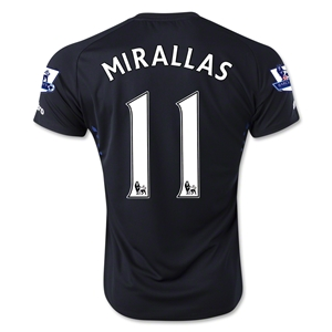 Everton 14/15 MIRALLAS Away Soccer Jersey