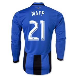 Montreal Impact 2013 MAPP LS Authentic Third Soccer Jersey