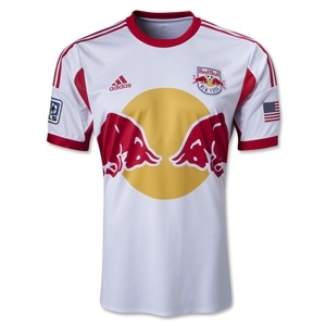 New York Red Bulls 2014 Authentic Primary Soccer Jersey