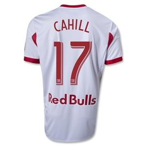 New York Red Bulls 2014 CAHILL Authentic Primary Soccer Jersey