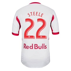 New York Red Bulls 2014 STEELE Authentic Primary Soccer Jersey