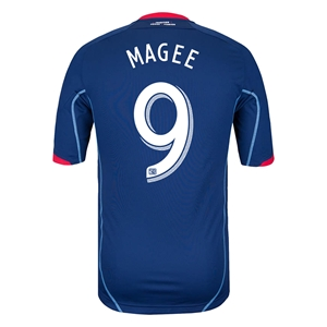 Chicago Fire 2014 MAGEE Authentic Secondary Soccer Jersey