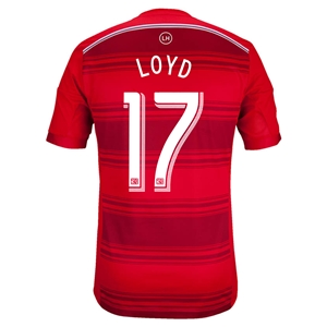 FC Dallas 2014 LOYD Authentic Primary Soccer Jersey