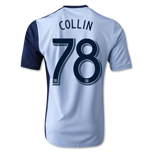 Sporting KC 2014 COLLIN Replica Primary Soccer Jersey