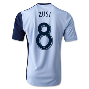 Sporting KC 2014 ZUSI Replica Primary Soccer Jersey