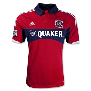 Chicago Fire 2013 Primary Soccer Jersey