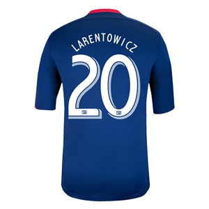 Chicago Fire 2014 LARENTOWICZ Replica Secondary Soccer Jersey