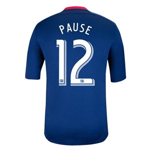 Chicago Fire 2014 PAUSE Secondary Soccer Jersey