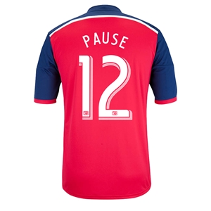 Chicago Fire 2014 PAUSE Primary Soccer Jersey