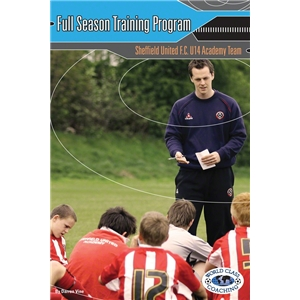 Full Season Training Program Sheffield United FC Soccer Book