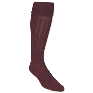 Classic Padded Solid Socks (Maroon)