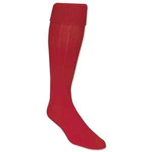 Classic Padded Solid Socks (Red)