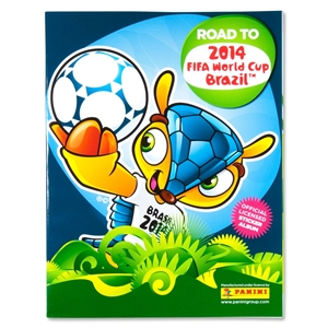 2014 FIFA World Cup Brazil(TM) Road to Brazil Sticker Album