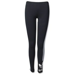 adidas Originals Women's 3-Stripes Leggings (Blk/Wht)