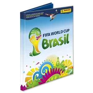 Limited Edition Panini 2014 FIFA World Cup Hardcover Sticker Album