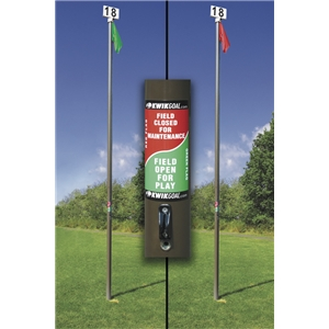 Kwik Goal Field Usage Flag Pole