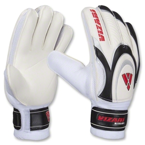 Vizari Mirage Goalkeeper Gloves (White/Black/Red)
