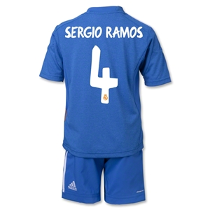 Real Madrid 13/14 SERGIO RAMOS Away Mini Kit