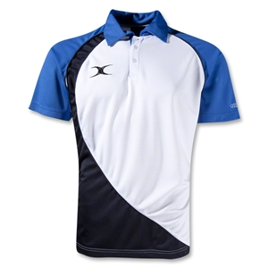Gilbert Pro V2 Polo (White/Royal)