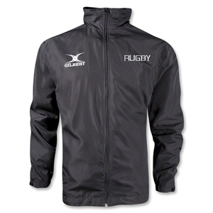 Gilbert Full Zip Rugby Logo Rain Jacket