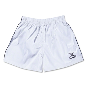 Gilbert Performance Match Rugby Shorts (White)
