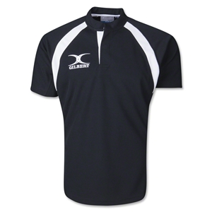 Gilbert Lightweight Match Rugby Jersey (Black)