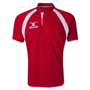 Gilbert Junior Match Rugby Jersey (Red)