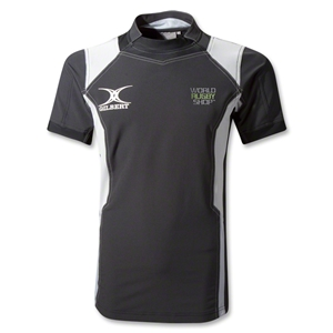 Gilbert World Rugby Shop Kryten Pro Jersey (Black/Silver)