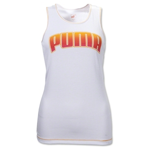 PUMA Women's Performance Racerback Tank (White)