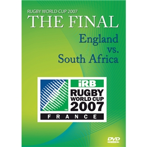 RWC 2007 The Final Match DVD England vs South Africa