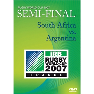 RWC 2007 Semi Final DVD South Africa vs Argentina