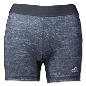 adidas Women's Techfit 5 Boy Short (Dk Grey)