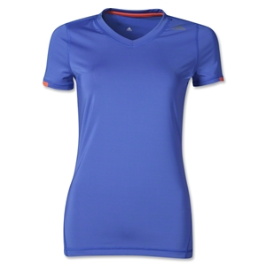 adidas TechFit Women's T-Shirt (Blue)