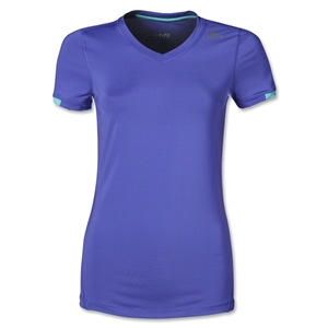 adidas TechFit Women's T-Shirt (Purple)