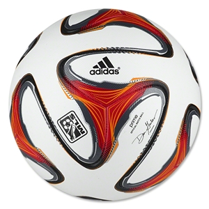 adidas 2014 MLS Official Match Ball (White/Poppy/Solar Zest)