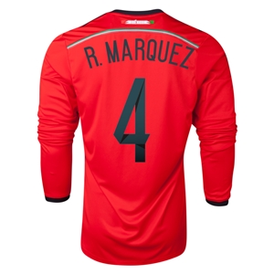 Mexico 2014 R. MARQUEZ LS Away Soccer Jersey