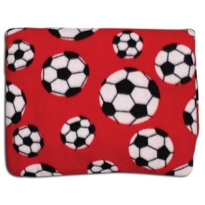Soccer Pocket Throws (Red)