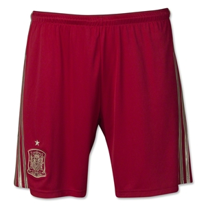 Spain 2014 Home Soccer Short