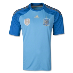 Spain 2014 Home Goalkeeper Jersey