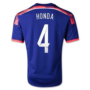 Japan 14/15 HONDA Home Soccer Jersey