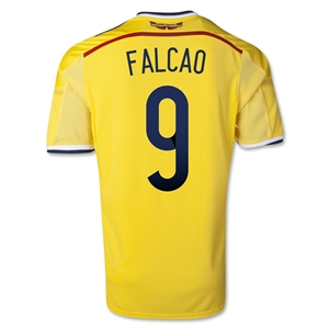 Colombia 2014 FALCAO Home Soccer Jersey